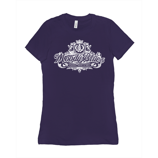 Moody Blues Flowy Design Women's Tee