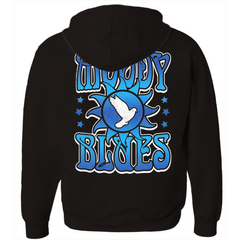 The Moody Blues Dove Logo Zip Hoodie