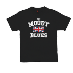 Union Jack Moody Blues T-shirt