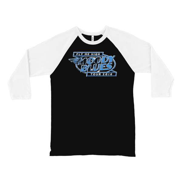 Fly Me High Tour 2016 Logo Raglan