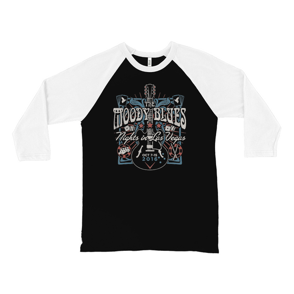 Nights In Vegas Guitar Raglan