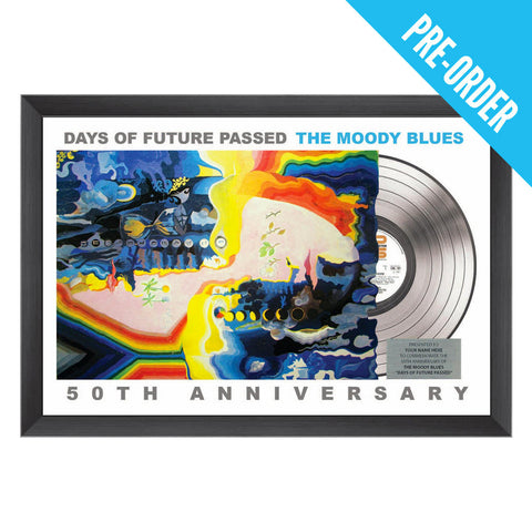 50th Anniversary of Days of Future Passed Commemorative Plaque (16x24)