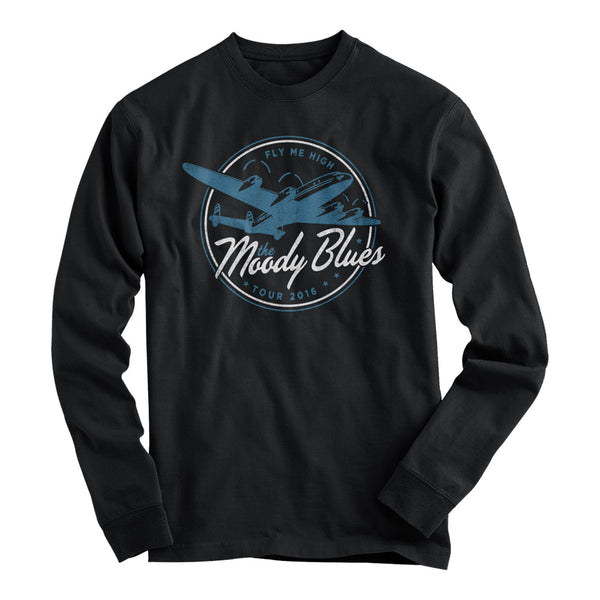Fly Me High 2016 Tour Black Long Sleeve