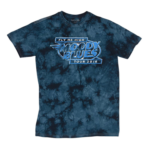Tye-dye 2016 Fly Me High Tour T-Shirt