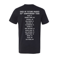 Days of Future Passed 50th Anniversary Tour Black T-Shirt