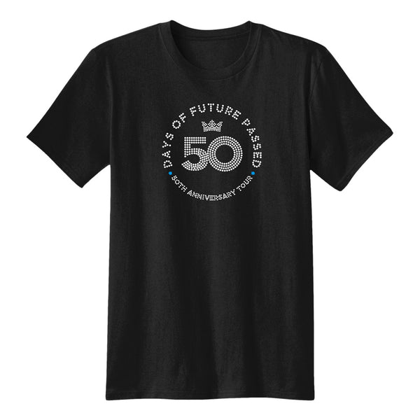 Days of Future Passed 50th Crystal Logo (Black Tee)