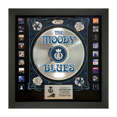 Moody Blues 50th Anniversary Commemorative Plaque