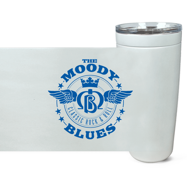 Moody Blues Classic Rock & Roll Logo Tumbler