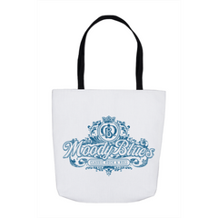 Classic Rock & Roll Flowy Design Tote Bag