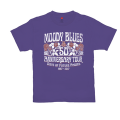 Moody Blues 50th Anniversary Roses Tee