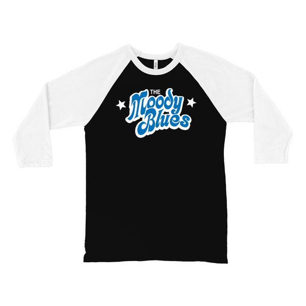 The Moody Blues Bubble Logo Raglan