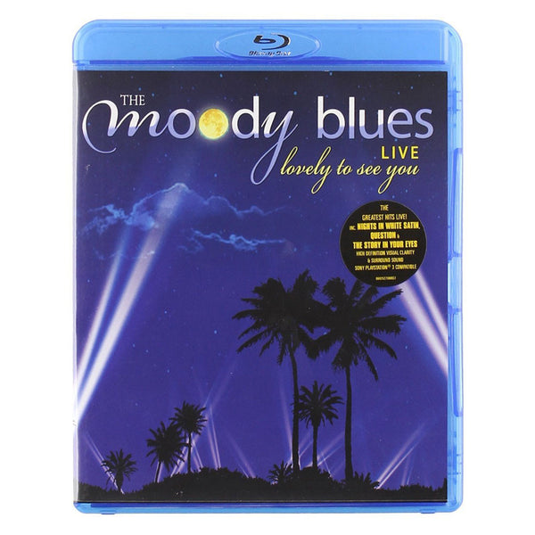 The Moody Blues Live: Lovely To See You Blu-Ray