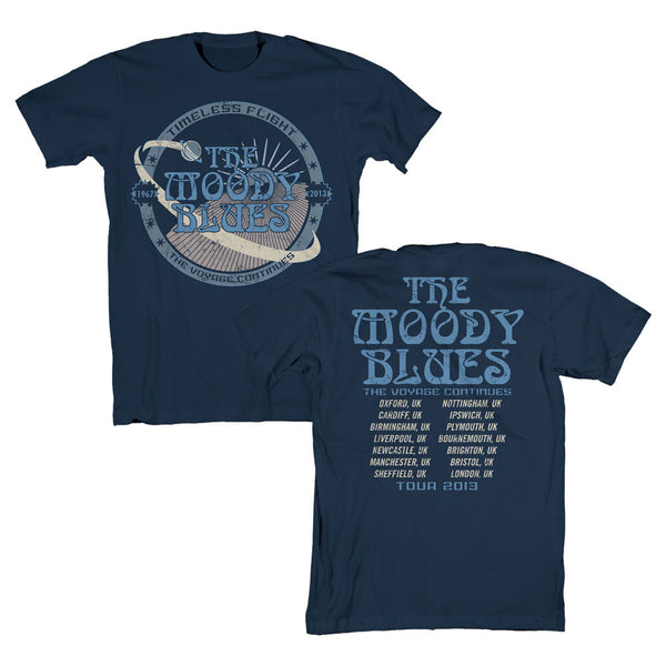 Timeless Flight Tour Navy T-Shirt-Small