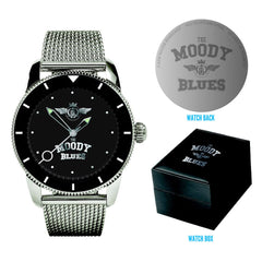 Moody Blues Stainless Steel Watch