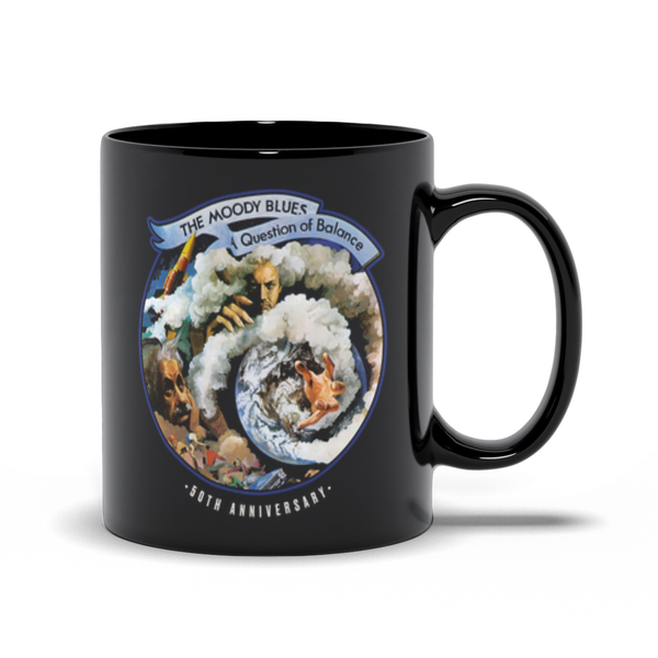 A Question of Balance 50th Anniversary Mug