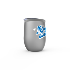 Moody Blues Bubble Logo Wine Tumbler
