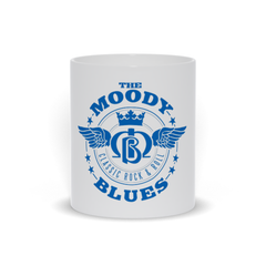 White Moody Blues Classic Rock & Roll Mug