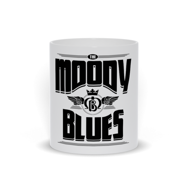 Moody Blues Retro Logo White Mug
