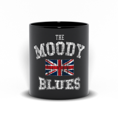 Union Jack Logo Black Mug