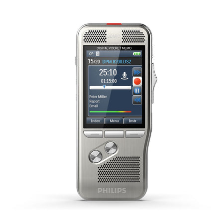 Philips DPM8500 Digital Recorder With Barcode Scanner