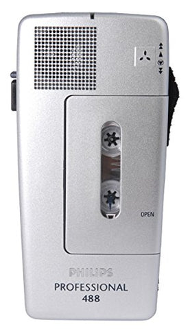 Philips 488 Mini Cassette Recorder