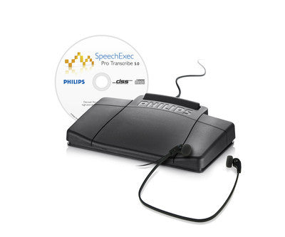 Philips-7277 Professional Digital Transcription Kit