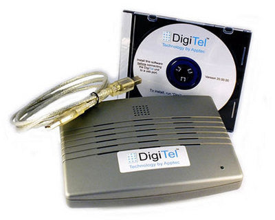 DigiTel 1 Line DT101USB Call-In Dictation System
