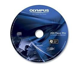 Olympus AS-4003 DSS Player 4 Dictation Software