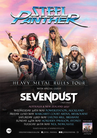 Steel Panther is headed Down Under!