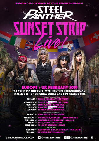 EU + UK Sunset Strip LIVE! VIP Upgrades Available NOW!!