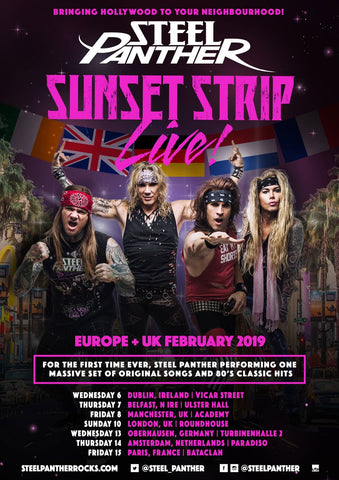 Sunset Strip Live coming to EU + UK in 2019!