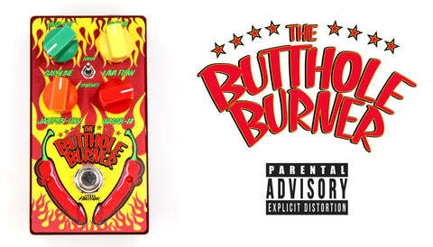 Steel Panther Unveil Their Hottest Guitar Effects Pedal To Date: The Butthole Burner!
