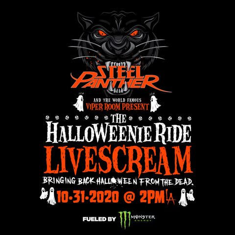 Announcing the Halloweenie Ride Livescream!