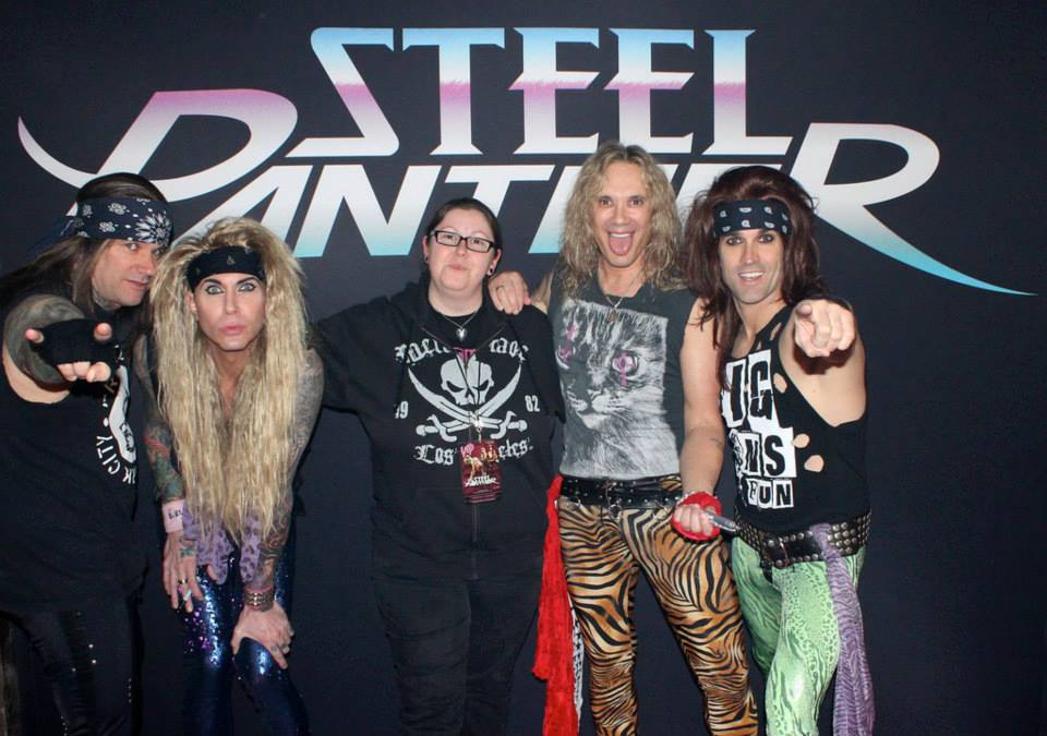Steel Panther & Andrea – Wiesbaden 26.03.2015 – by On The List Presents…