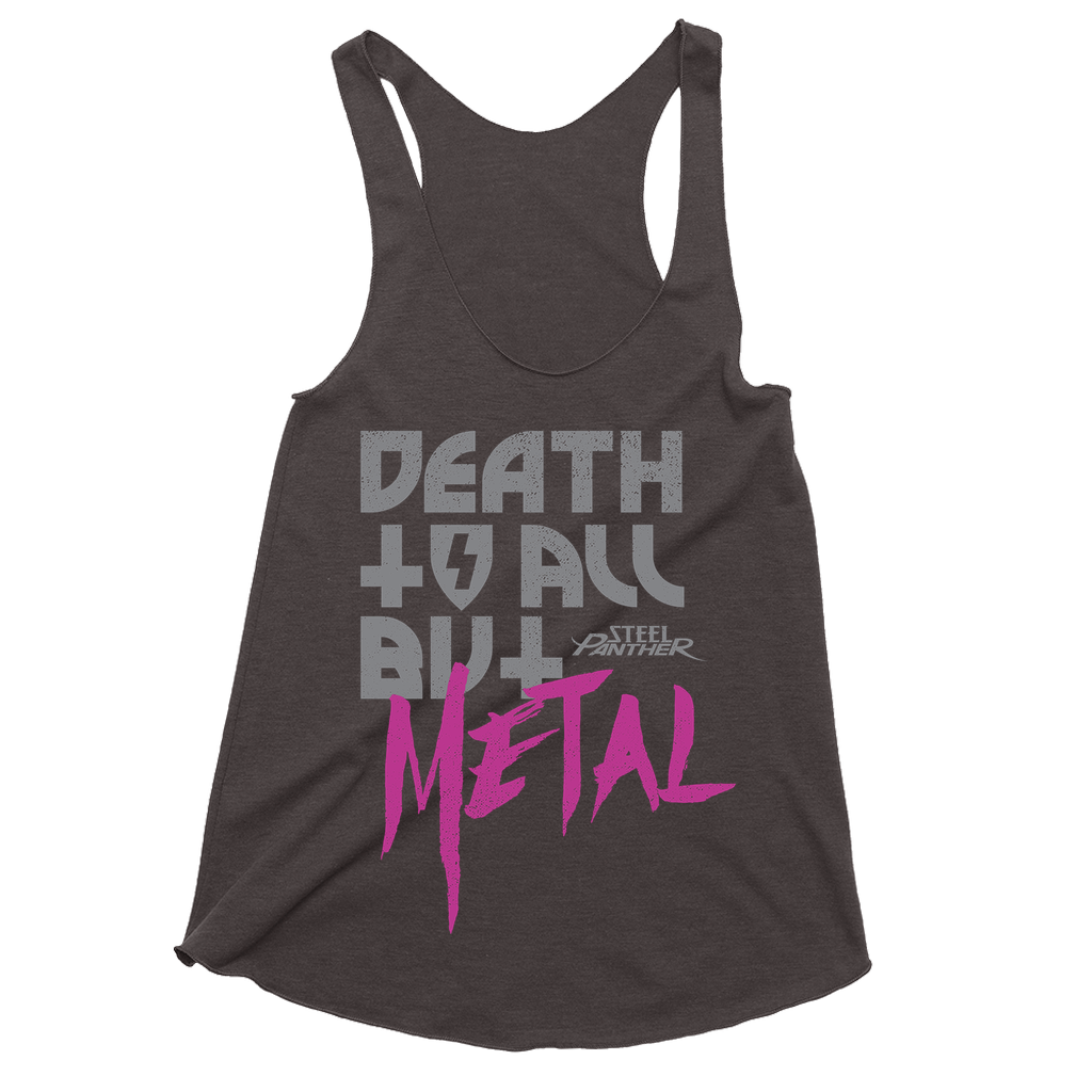 Death To All But Metal Womens Tank Top