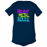 Heavy Metal Rules Onesie