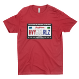 Heavy Metal Rules License Plate Shirt