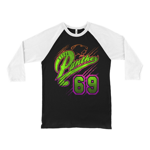 Panther 69 2-Sided Baseball Tee
