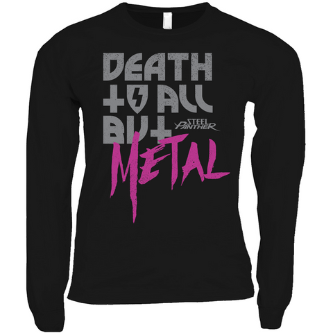 Death To All But Metal Long Sleeve Shirts