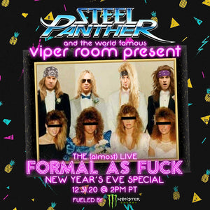 Almost Live Formal as Fuck New Years Eve Special Ticket