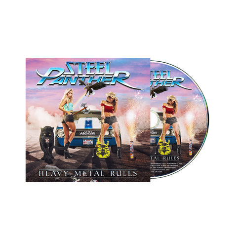 Heavy Metal Rules Signed CD