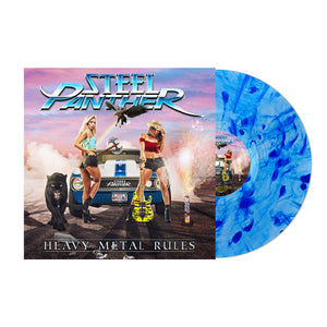 Heavy Metal Rules Signed Blue Vinyl