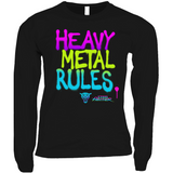 Heavy Metal Rules Long Sleeve Shirts