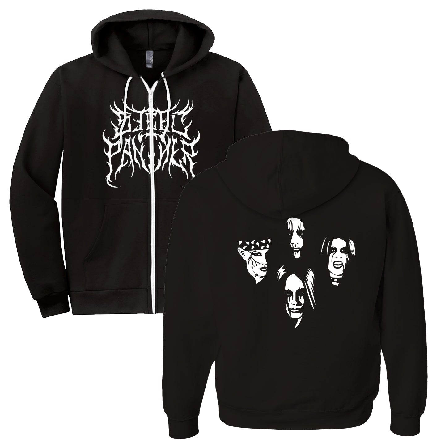 Black Metal Hoodies