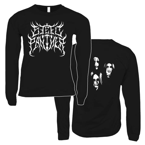 Black Metal Long Sleeve Shirts