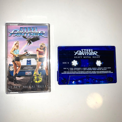 Heavy Metal Rules Cassette - Limited Edition