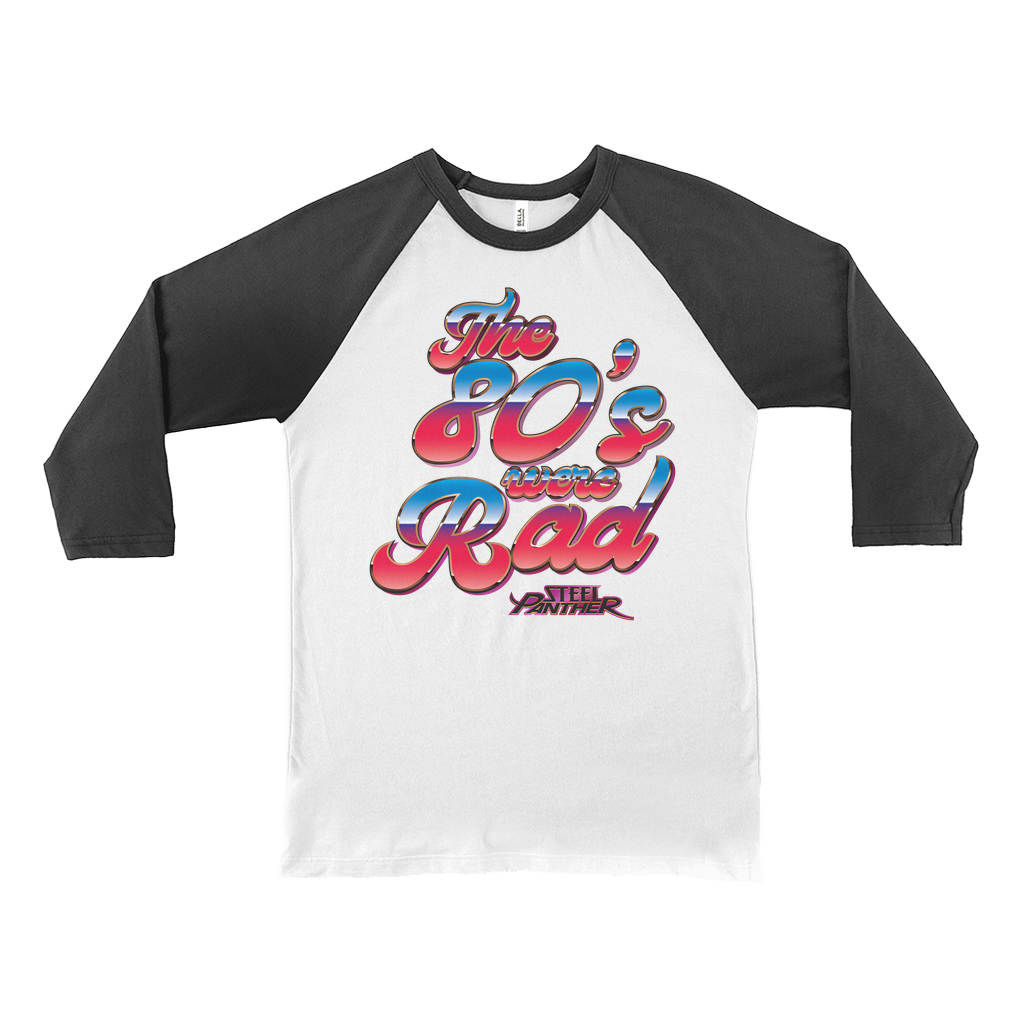 The 80s Were Rad Baseball Tee