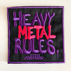 Heavy Metal Rules Patch