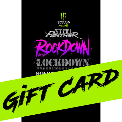 Rockdown in the Lockdown Gift Card