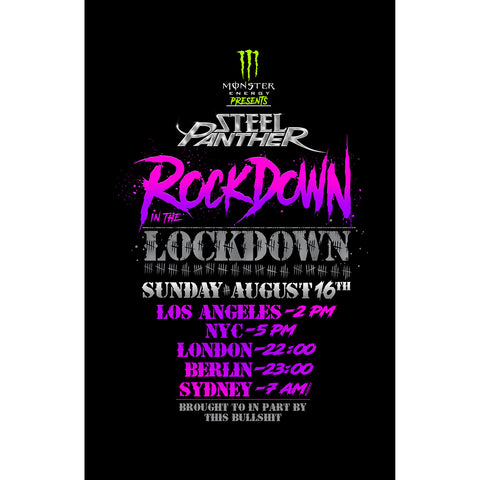 Steel Panther Rockdown In The Lockdown Live Stream